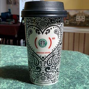 Starbucks Jonathan Alder (Red) Travel Mug [2010]
